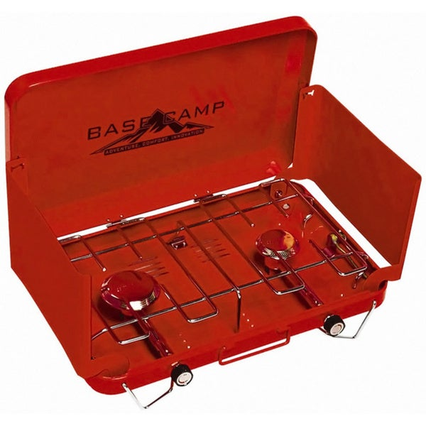 Base Camp Red Two Burner Stove