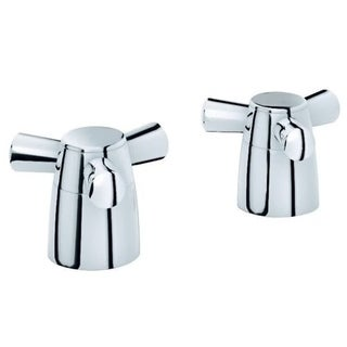 Grohe Arden Cross Chrome-colored Handles (Pair)
