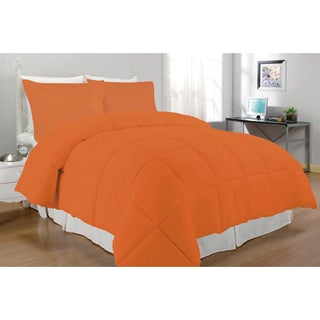 Microfiber Down Alternative 3-piece Comforter Set (3 options available)