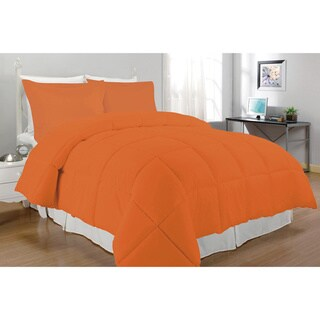Microfiber Down Alternative 3-piece Comforter Set