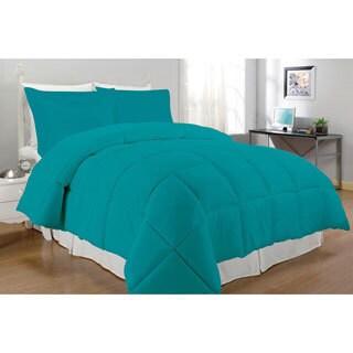 Microfiber Down Alternative 3-piece Comforter Set (More options available)