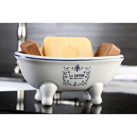 Le Savon Ma Maison Clawfoot Tub Soap Dish