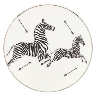 Lenox Scalamandre Zebras Platinum Salad Plate