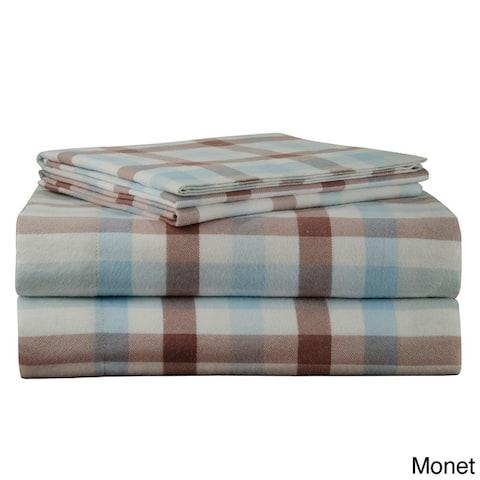 170 GSM Heavy Weight Printed Deep Pocket Flannel Sheet Set