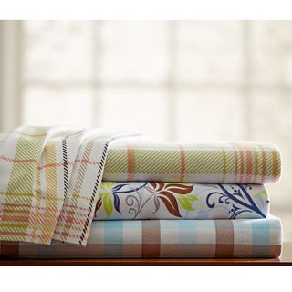 170 GSM Heavy Weight Printed Deep Pocket Flannel Sheet Set