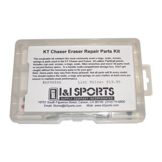 Kingman Training Chaser/ Eraser Paintball Pistol Repair Parts Tune Up Kit