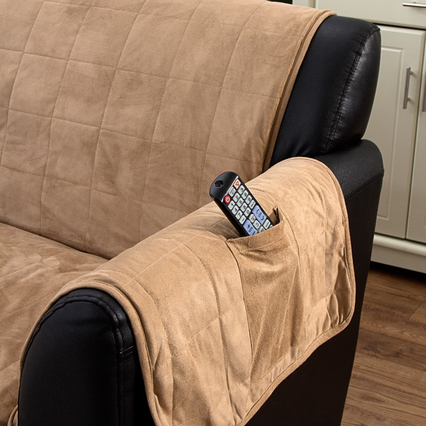 Serta Heated Sofa Protector   Free Shipping Today   Overstock.com   16730568