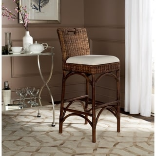 safavieh fremont brown barstool free shipping today