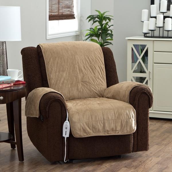 Serta Heated Warming Chair Protector