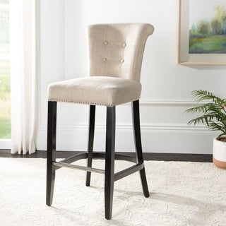 Shop Safavieh Addo Charcoal Ring Counterstool 19 6 Quot X 24