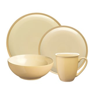 Denby Dine Barley 4-piece Dishware Set