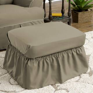 Tailor Fit Relaxed Fit Twill Ruffled Ottoman Slipcover https://ak1.ostkcdn.com/images/products/9549910/P16730634.jpg?impolicy=medium