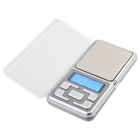INSTEN Professional Silver Digital Handy Pocket Scale 0.01-200g