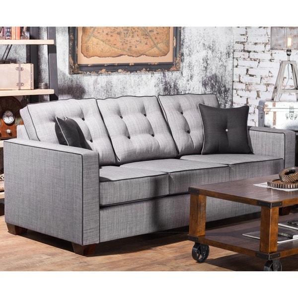 Shop Furniture Of America Lennons Urban Upholstered Sofa