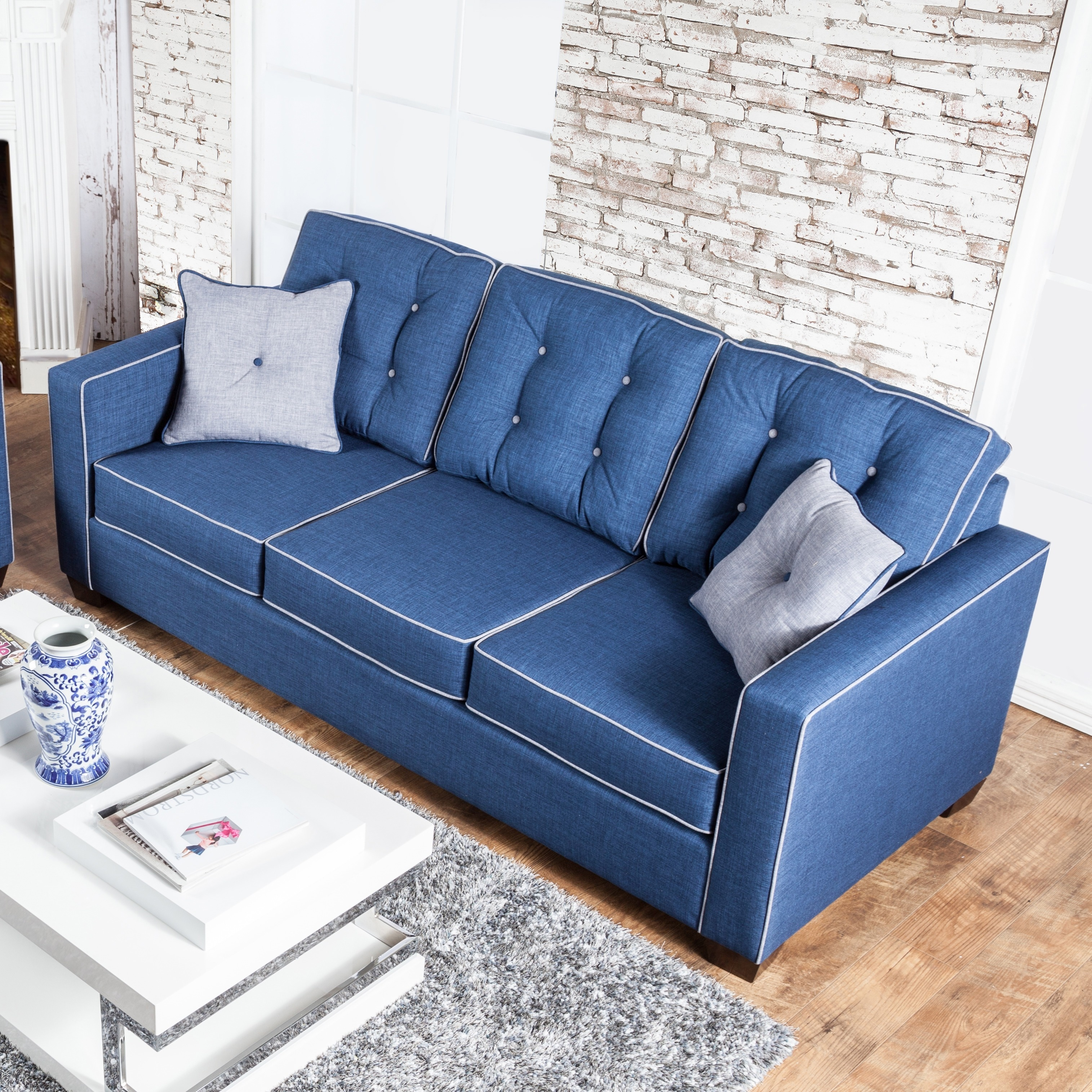 Blue Furniture of America Sofas Couches & Loveseats For Less