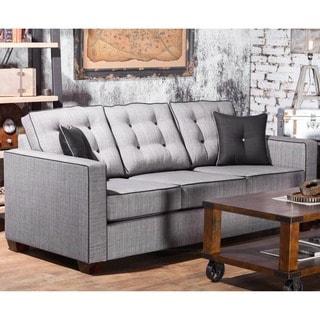 Furniture of America Lennons Urban Upholstered Sofa