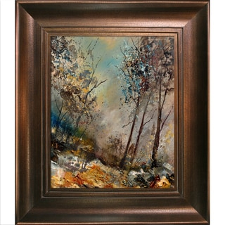 Pol Ledent 'In the wood 451180' Framed Fine Art Print