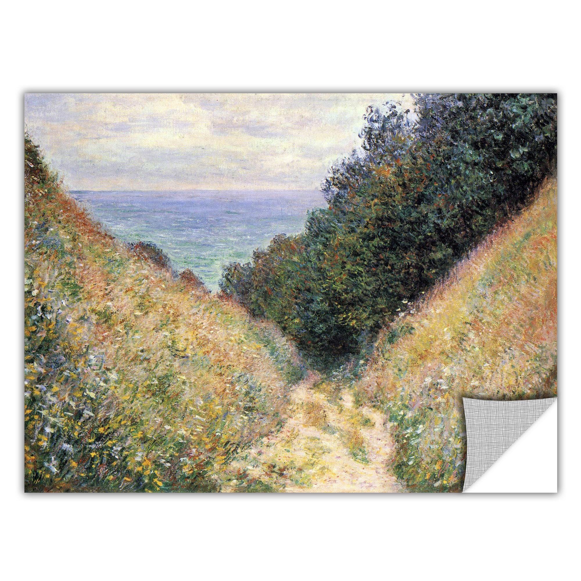 ArtWall Claude Monet 'Footbath' Removable Wall Art (18x24...