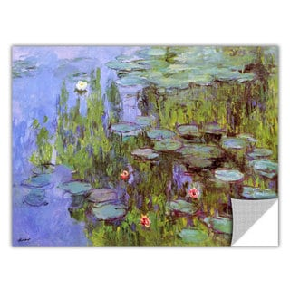 Claude Monet 'Sea Roses' Removable Wall Art