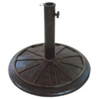 Cast Stone Bronze Umbrella Base