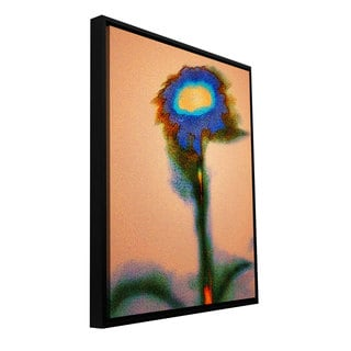 Dean Uhlinger 'Dune Flower' Floater-framed Gallery-wrapped Canvas