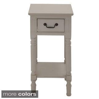 Casa Cortes Lena Square 30-inch Wood Accent Table