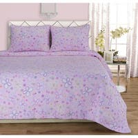 Superior Amy Butterfly Cotton Quilt Set