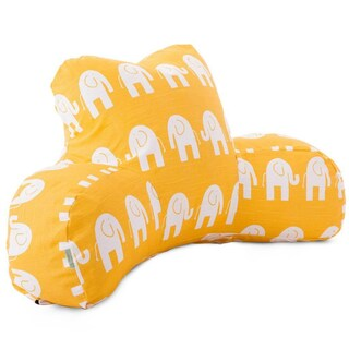 Ellie Elephant Pattern Reading Pillow