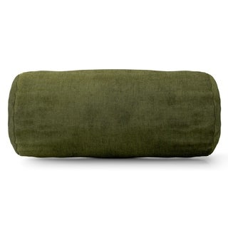 Villa Collection Microvelvet Round Bolster Pillow