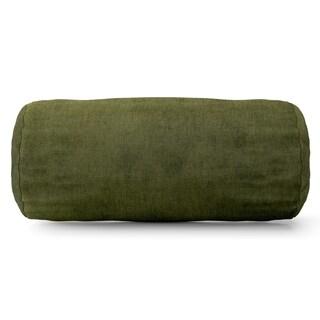 Villa Collection Microvelvet Round Bolster Pillow