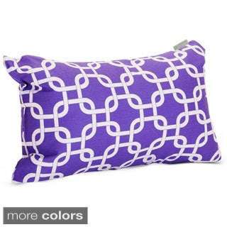 Link Pattern 12 x 20-inch Throw Pillow