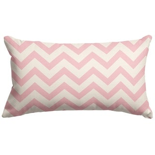 Chevron Pattern 12 x 20-inch Accent Pillow