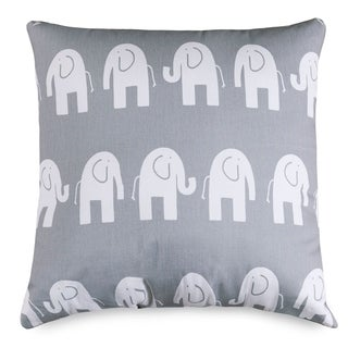 Ellie Elephant Large Pillow