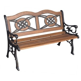 Kokomo Wood Inlay Bench