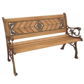 Amarillo Rose Park Bench