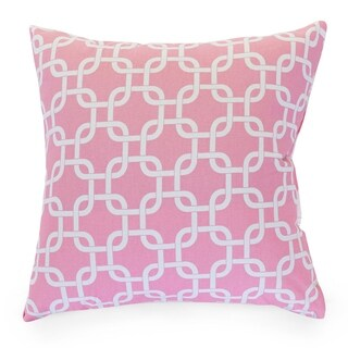 Link Pattern 24 x 24-inch Extra Large Pillow