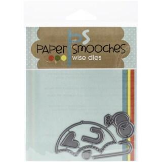 Paper Smooches Die-Wedding Shower