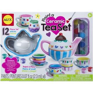 Paint A Ceramic Tea Set Kit