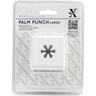 Xcut Large Palm Punch-Snow Crystal