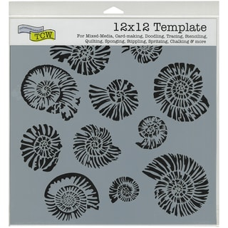 """Crafter's Workshop Template 12""""X12""""-Nautilus"""