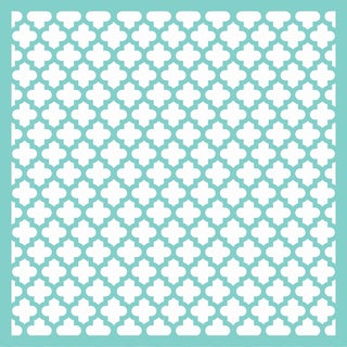 "Template 12""X12""-Moroccan Lattice"