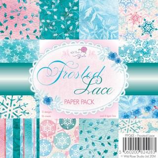 "Wild Rose Studio Ltd. Paper Pack 6""X6"" 36/Pkg-Frosted Lace"