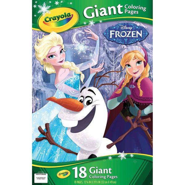 Crayola Giant Disney Coloring Book 12.75\
