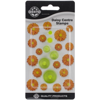 Plastic Cutter Set 6pc-Daisy Centers