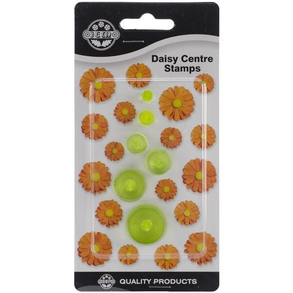 Plastic Cutter Set 6pc-Daisy Centers