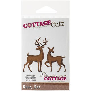 CottageCutz Die-Deer Set