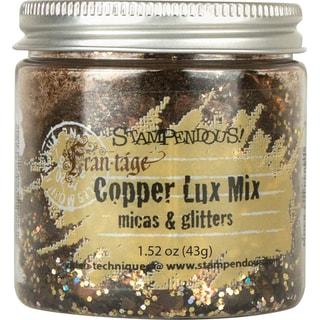 Stampendous Micas & Glitters Lux Mix 1.27oz -Copper