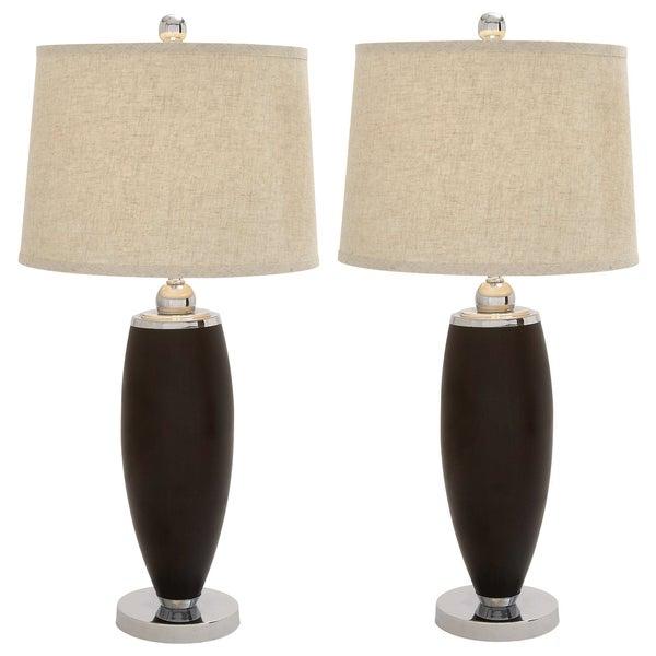 Casa Cortes GQ 35-inch Polystone Table Lamp (Set of 2)