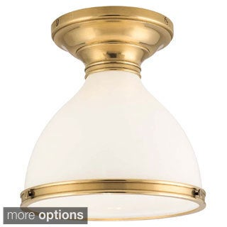 Hudson Valley Randolph 1-light Semi Flush