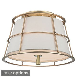 Hudson Valley Savona 2-light Semi Flush